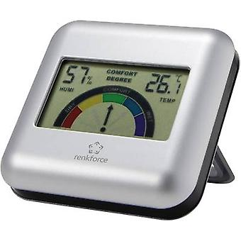 Thermo-hygrometer Renkforce Silver