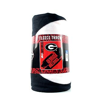 Georgien Bulldogs NCAA nordvest Fleece Throw