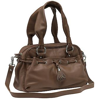 Burgmeister ladies bag T217-215 leather brown