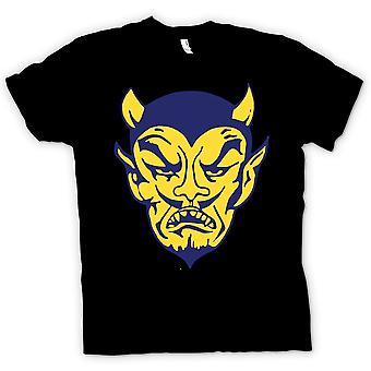 Детская футболка - дьяволы лица - Юмор