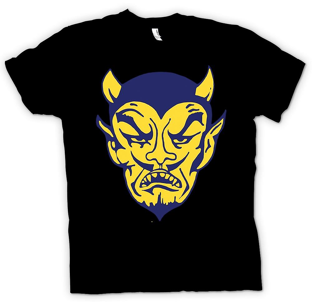 Mens T-shirt - The Devils Face - Funny