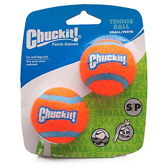Chuckit Dog Tennis Ball Small 4.8cm, 2 per pack, Dog Toy