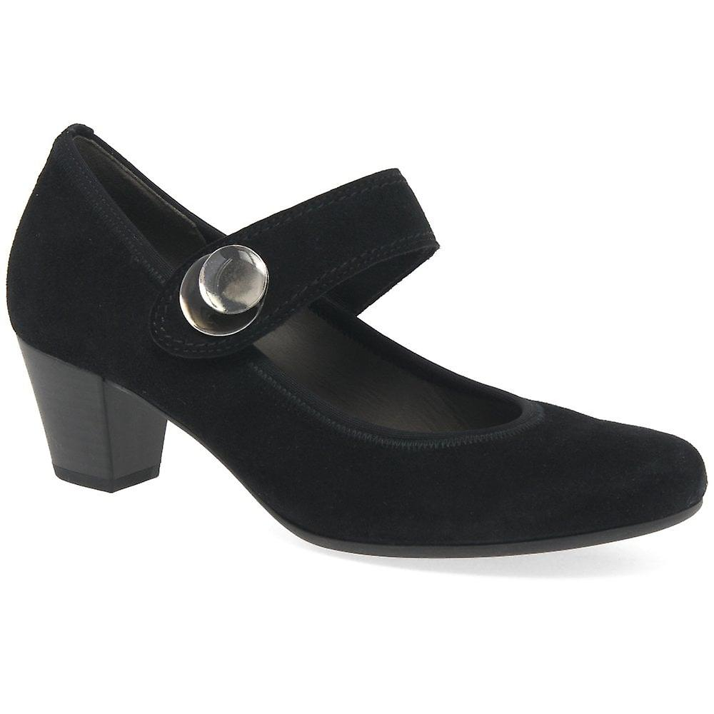 Gabor Nola Womens Suede Mary Jane Shoes
