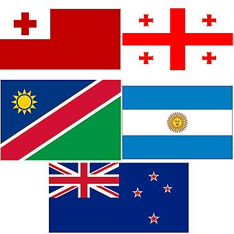 Rugby World Cup vlag Pack Pool C