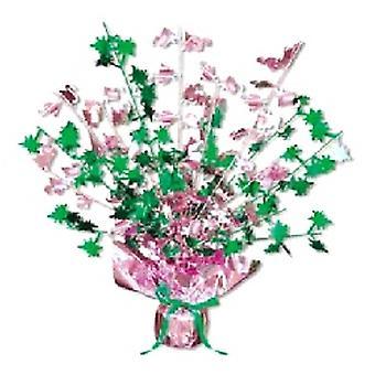 Flamingo & Palm Tree Centerpiece 15 Inch (aantal 1)