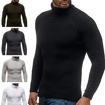 Men's long sleeve sweat shirt sweater with Turtleneck