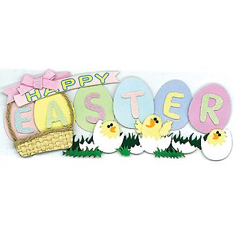 Jolee's Boutique Title Waves Dimensional Stickers-Easter