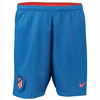 2018-2019 Atletico Madrid Away Nike Football Shorts (Kids)