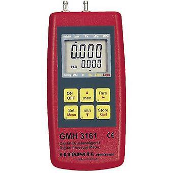 Greisinger GMH 3161-13 Digital fin Manometer inkludert Sensor