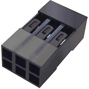 FCI Socket enclosure - cable Mini-PV Total number of pins 6 Contact spacing: 2.54 mm 65043-034ELF 1 pc(s)