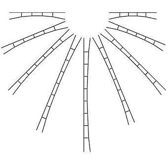 N Contact wire 147 mm, 163 mm Viessmann 4355 5 pc(s)