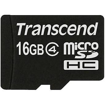 Transcend Standard microSDHC card 16 GB Class 4