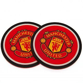 Manchester United 2pk Coaster Set