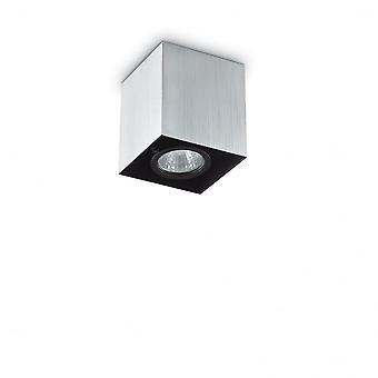 Ideel Lux humør 8,5 cm GU10 Aluminium overflade Square loft Spotlight