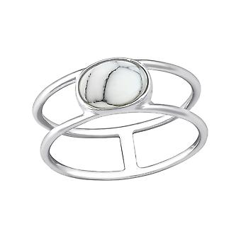 Oval - 925 Sterling Silver Jewelled Rings - W37980x