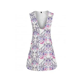 The Fashion Bible Floral Bird Print Smock Dress