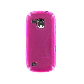 OEM Verizon continuüm van Samsung SCH-I400 hoogglans Silicone Case (roze) (Bulk Pac
