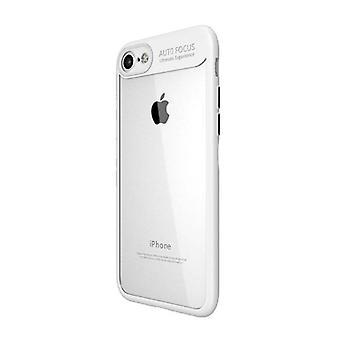 Stuff Certified® iPhone 8 - Auto Focus Armor geval dekken Cas TPU Silicone hoesje wit