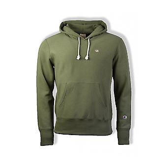 Champion Reverse Weave Hoody (Olive)