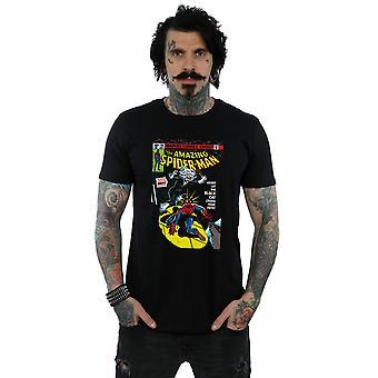 Marvel Universum Herren Spider-Man schwarze Katze Cover T-Shirt