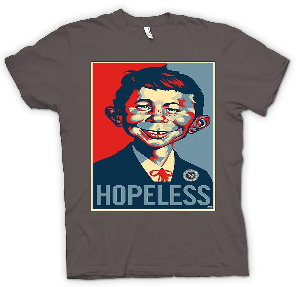 Womens T-shirt - Mad Hopeless Obama - Pop Art - Style