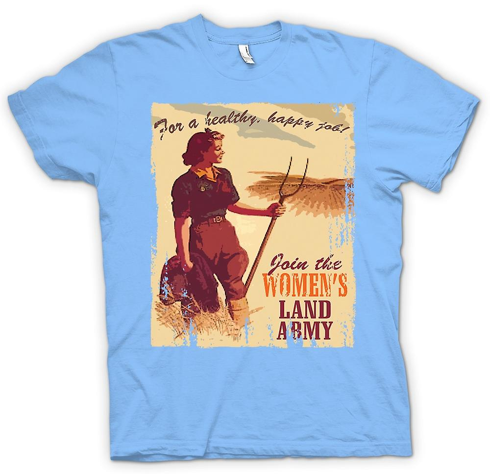 Mens T-shirt - Join The Womens Land Army
