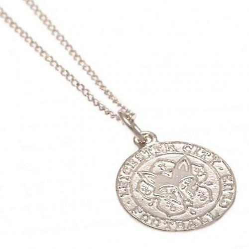 Leicester City Sterling Silver Pendant & Chain