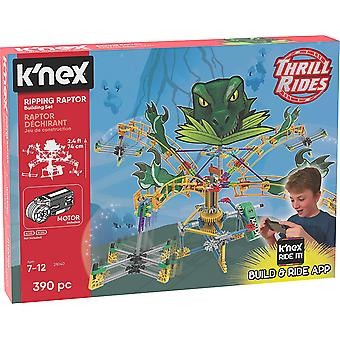 K'Nex 28040 Thrill Rides, Ripping Raptor Ages 7+ 390 Pieces