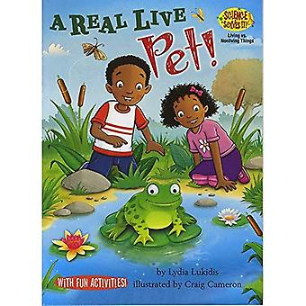 A Real Live Pet!: Living vs. Nonliving Things (Science Solves It! (R))