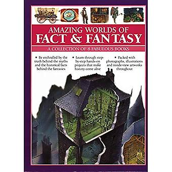 Amazing Worlds of Fact & Fantasy: A Collection of 8� Fabulous Books: Be enthralled by the truth behind the myths and the historical facts behind the� fantasies; learn through step-by-step hands-on projects that make history come alive; fabulous photogra