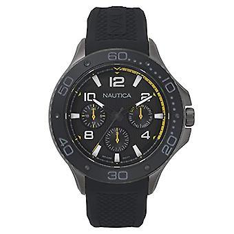 Nautica Analogueico Watch quartz men with Silicone strap NAPP25004
