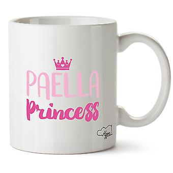Hippowarehouse Paella Princess Printed Mug Cup Ceramic 10oz