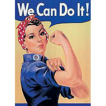 Rosie The Riveter We Can Do It fridge magnet (na)