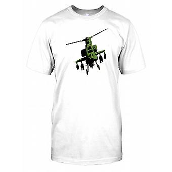 Apache Helicopter Image Kids T Shirt