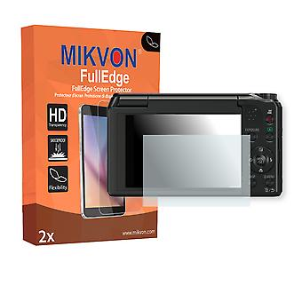 Panasonic Lumix DMC-TZ56 screen protector - Mikvon FullEdge (screen protector with full protection and custom fit for the curved display)