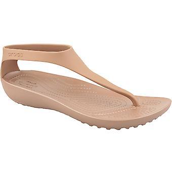 Crocs W Serena Flip 205468-860 Womens utomhus sandaler