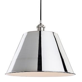 Firstlight-1 ljus tak hänge borstad krom-4873BC