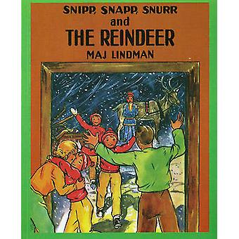 Snipp - Snapp - Snurr and the Reindeer by Maj Lindman - Maj Lindman -