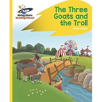 Reading Planet - The Three Goats and the Troll - Yellow - Rocket Phoni