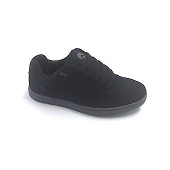 Osiris Black-Black-Charcoal Relic Shoe