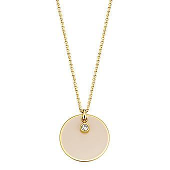 Esprit Fancy crème gouden Damenkette (ESNL13169B800)