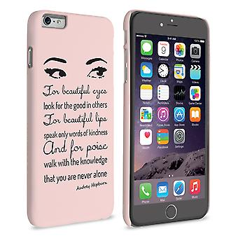 Caseflex iPhone 6 Plus og 6s pluss Audrey Hepburn 'Eyes' sitere tilfelle
