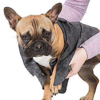 Trespass Mens Sooty Super Absorbent Walking Dog Towel