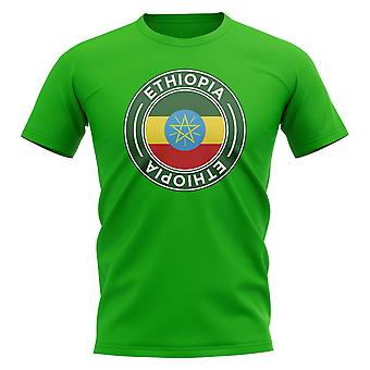 Ethiopia Football Badge T-Shirt (Green)