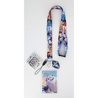 Lanyard-lille fod-Opdag w/Soft Dangle Hang tag ny 47081