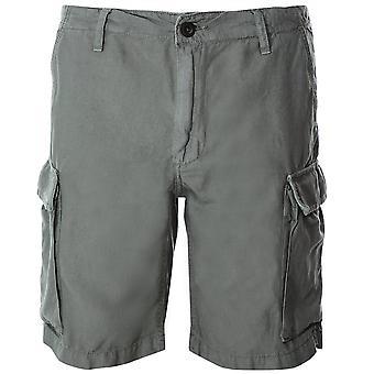 Misto lino Hartford crogiolarsi pantaloncini Cargo