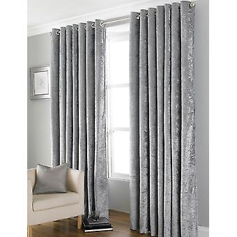 Country Club Bliss cortinas, gris 90