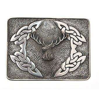 Bouledogue Stag Buckle (WES)