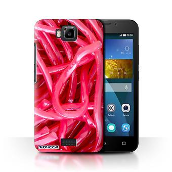 STUFF4 Case/Cover for Huawei Honor Bee/Y5c/Strawberry Laces/Confectionery