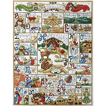 Oh Holy Night Counted Cross Stitch Kit 16
